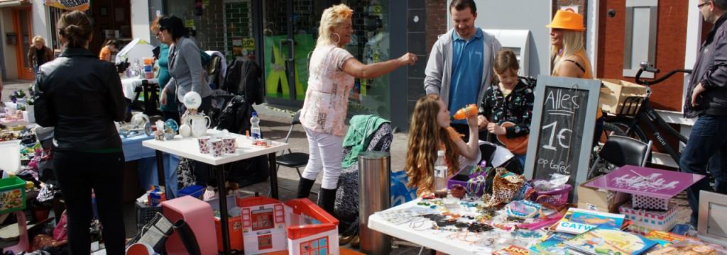 foto vrijmarkt Naaldwijk